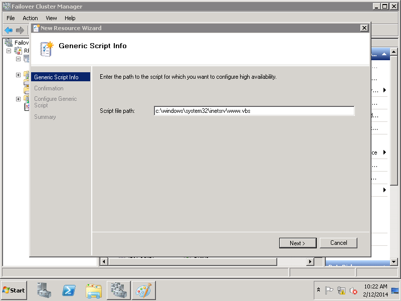 how to delegate to application pool in iis